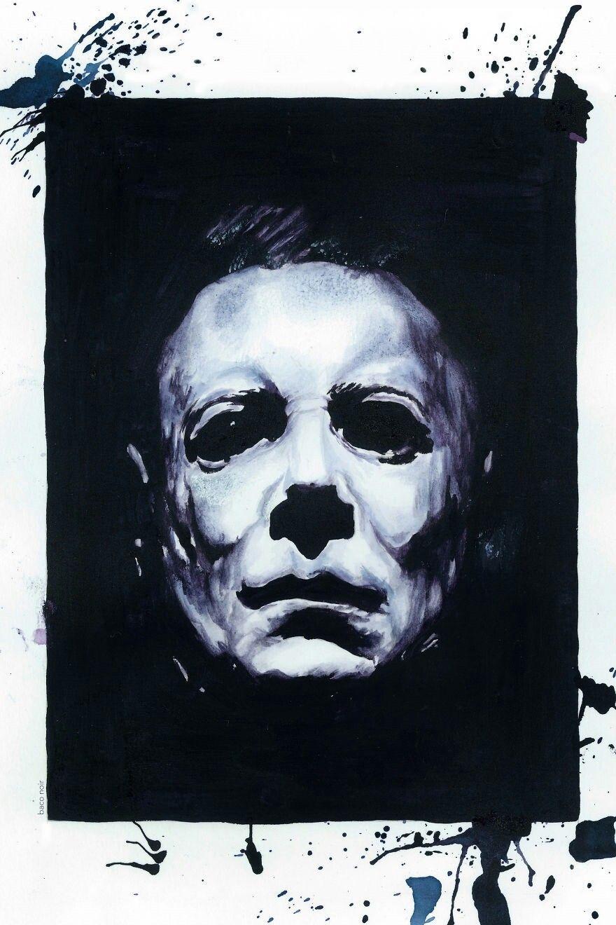 Michael Myers Horror Movie Villains Pinterest
