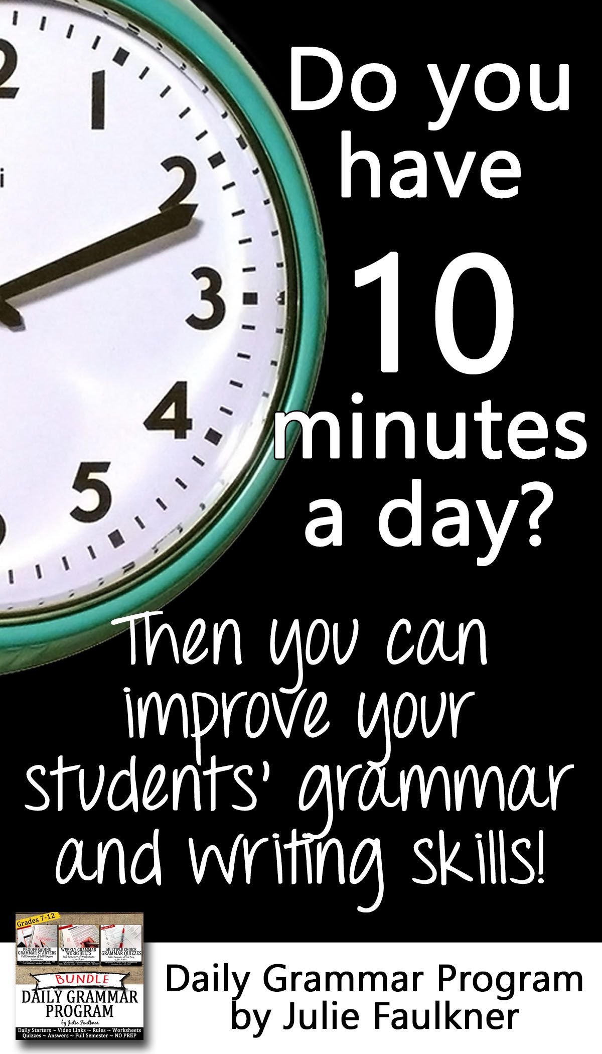 Ten Minute Grammar Daily Act Prep Set 1 Bundle 18