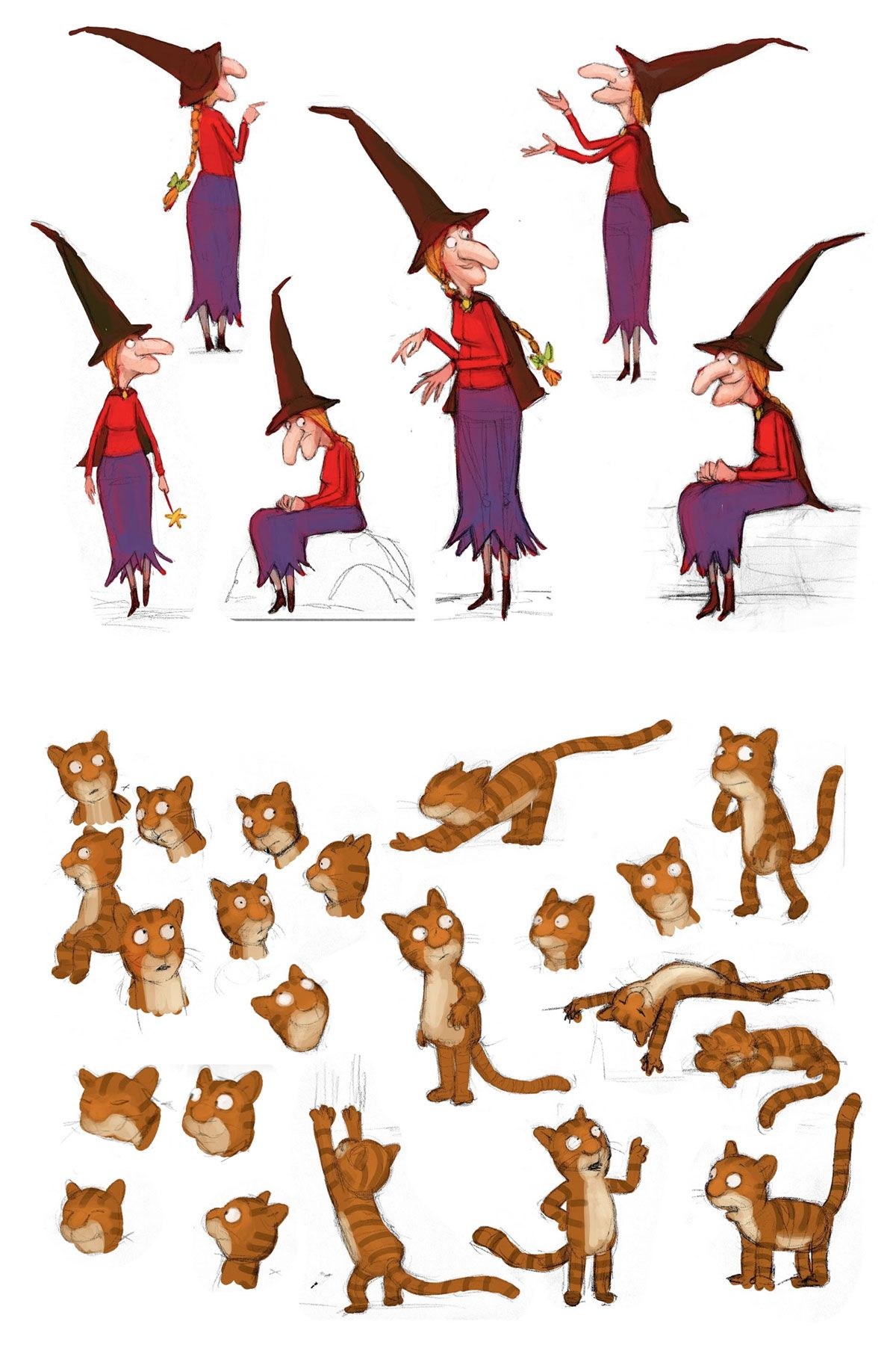 Room On The Broom Characters 1
