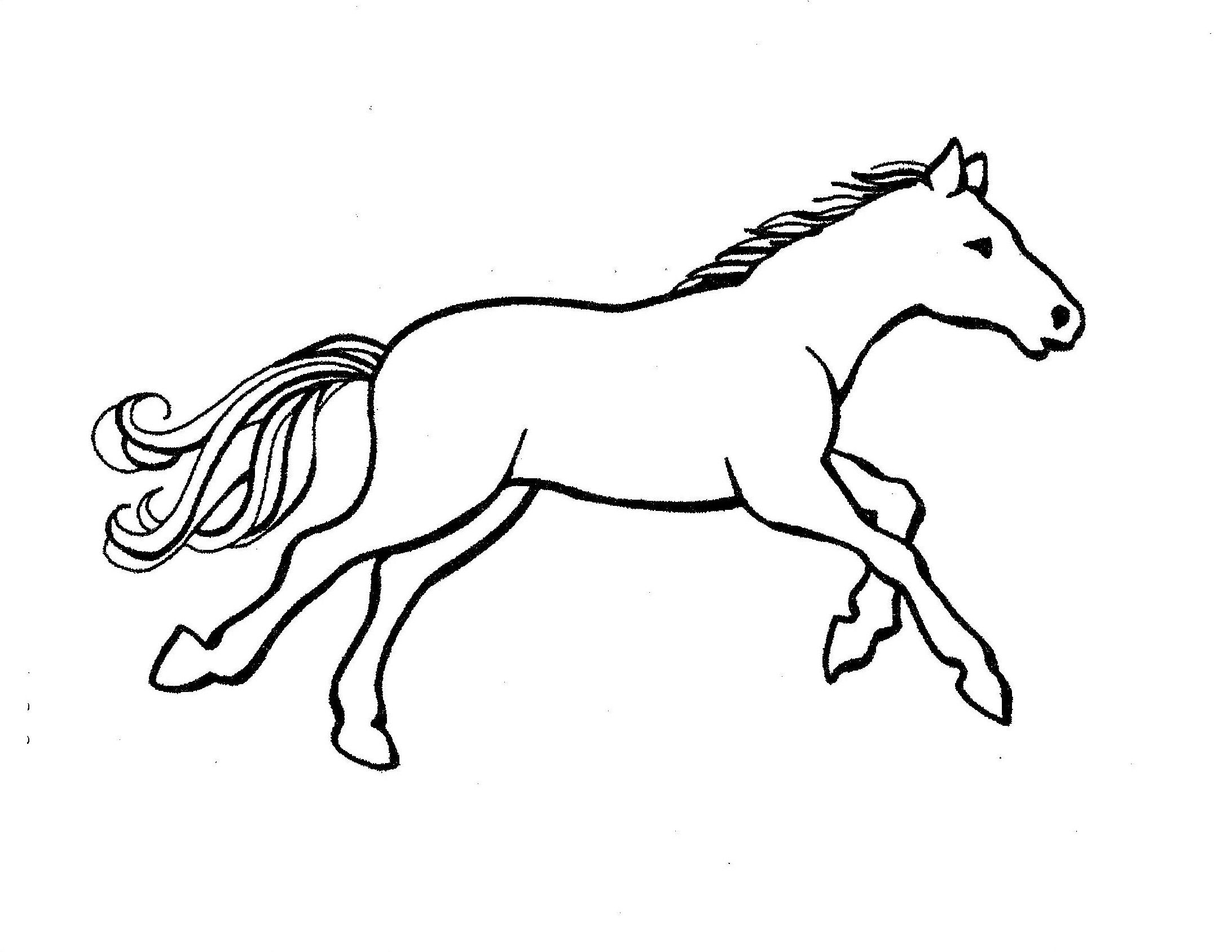 Horse Coloring Pages Pdf Gtm Ccamish Kolorownki Pinterest