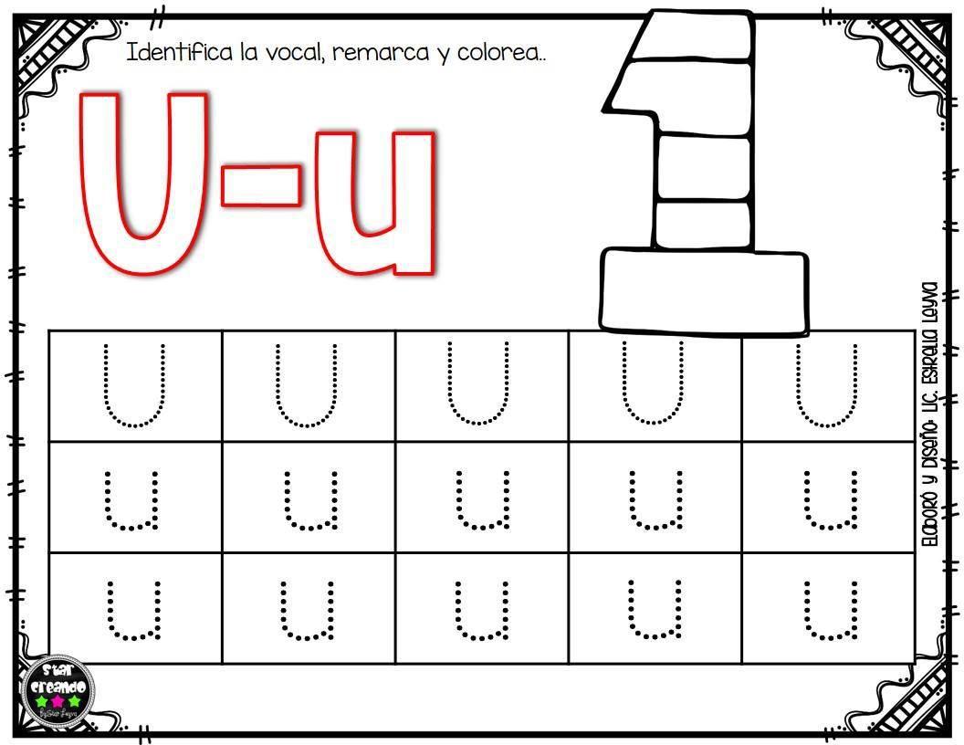 Fichas Vocales 10