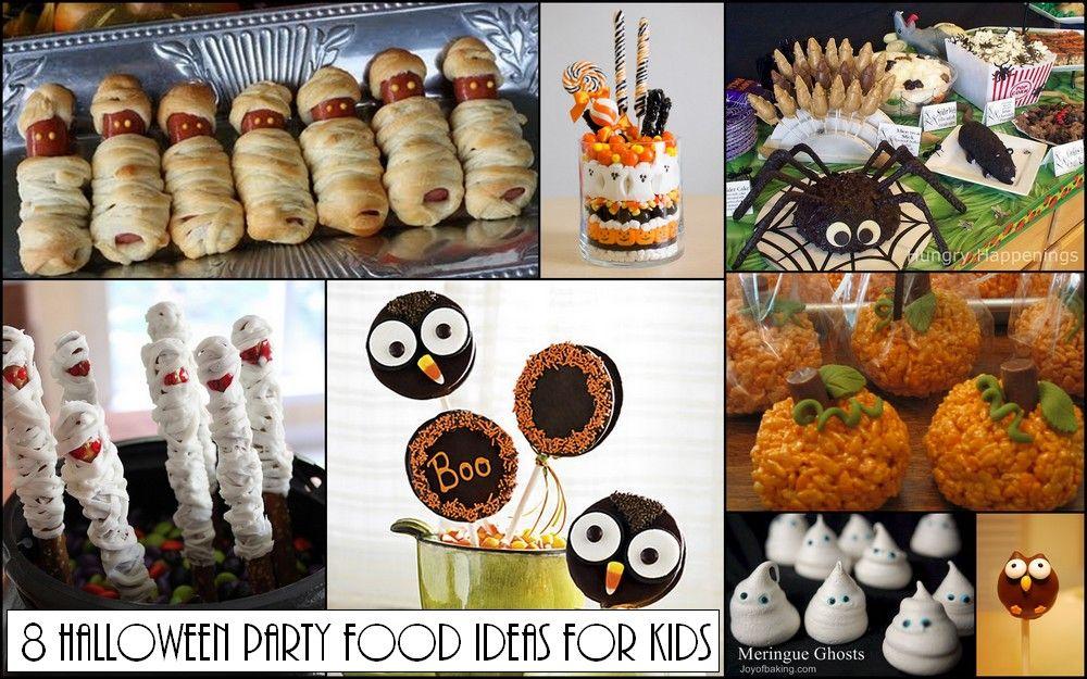 Halloween Party Food Ideas Kids Edition Halloween