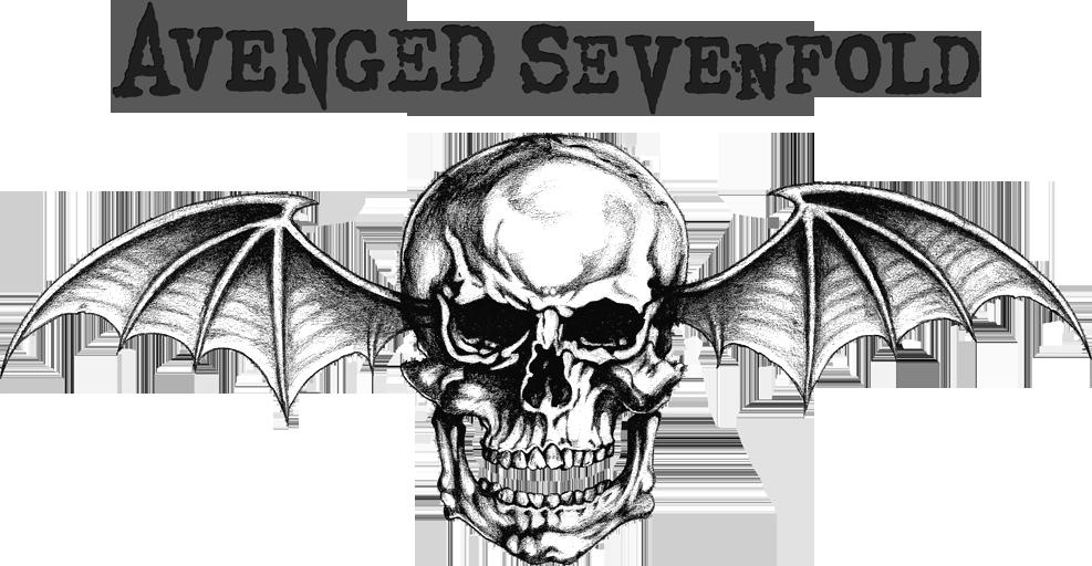 avenged sevenfold logo preto e branco Pesquisa Google
