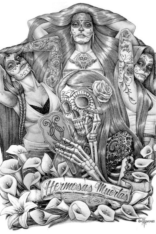Las Muertas Brown Pride Pinterest Chicano, Chicano