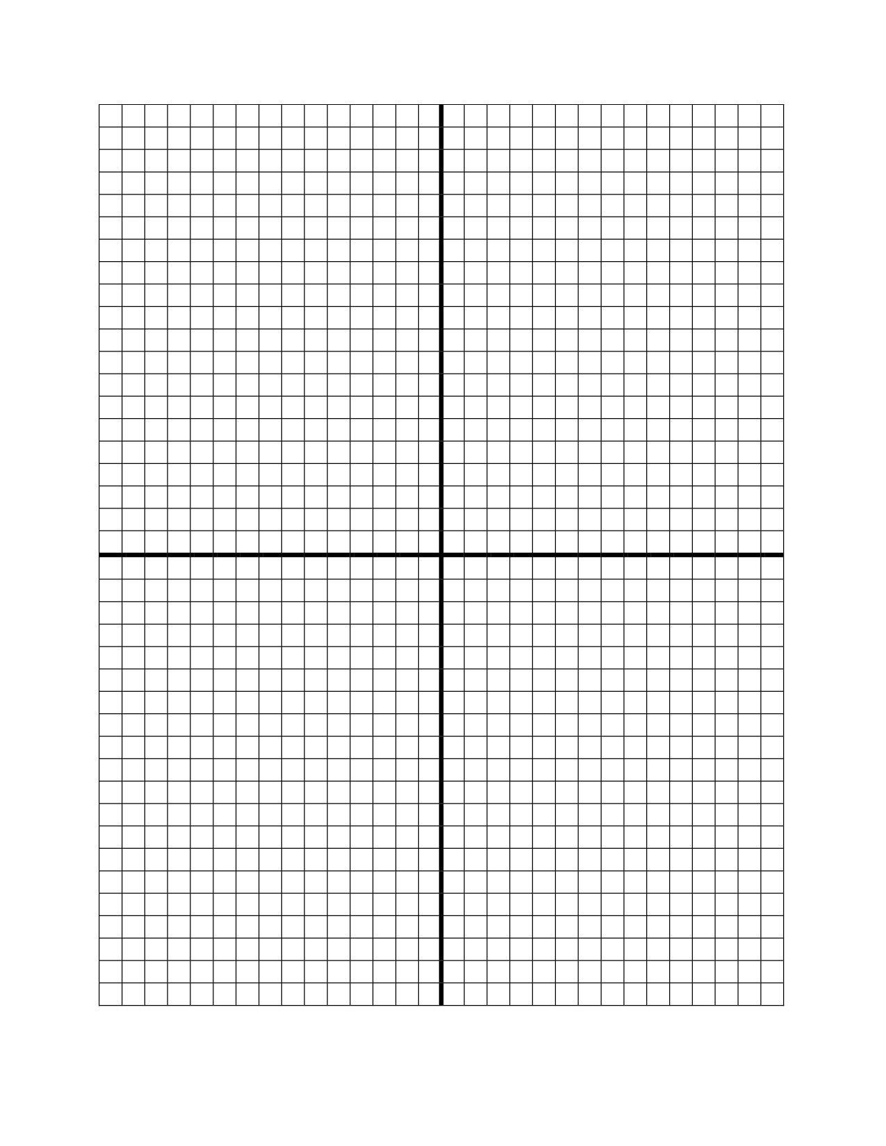 Blank Graph Template