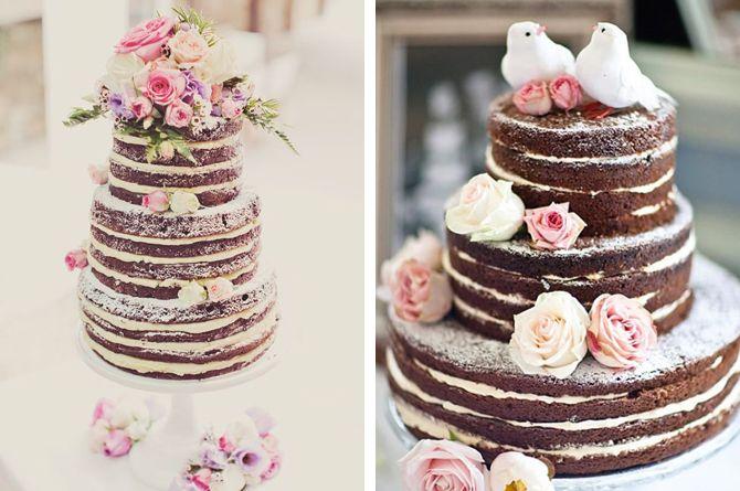 Resultado de imagem para naked cake