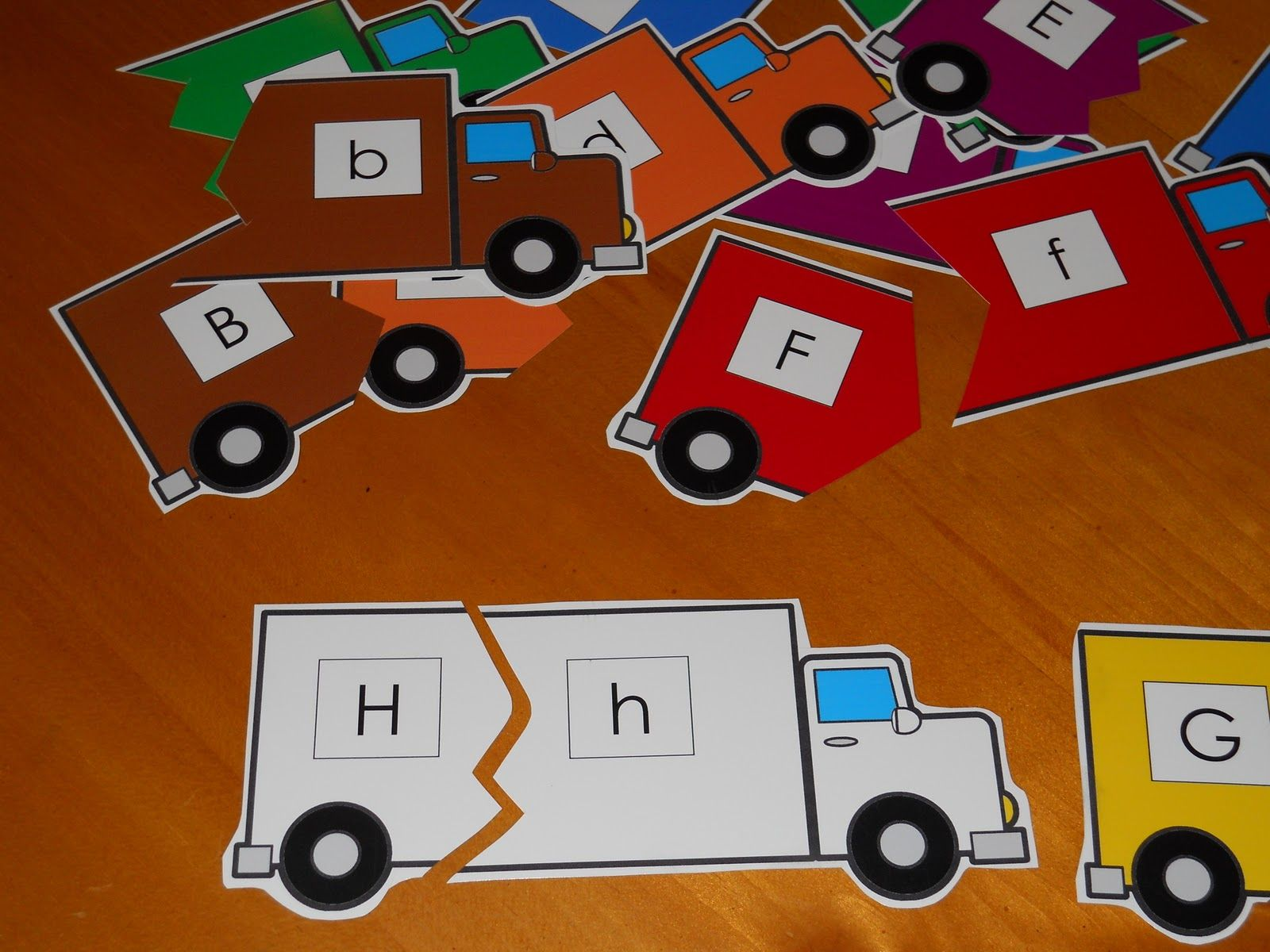Learning And Teaching With Preschoolers On The Road Could Have Another Activity Creating Abc