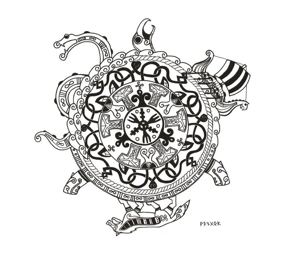 Viking Symbol by on DeviantArt