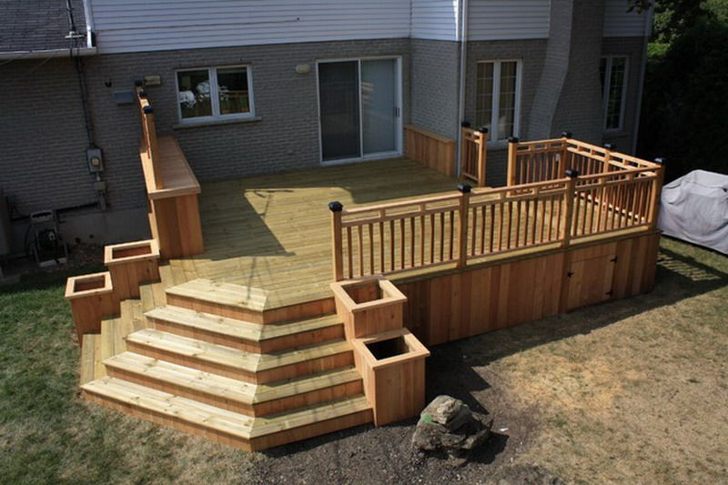 Patio And Deck Together Design - Google Search