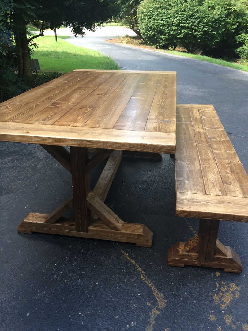 Custom built Farmhouse Tables for sale Midlothian VA