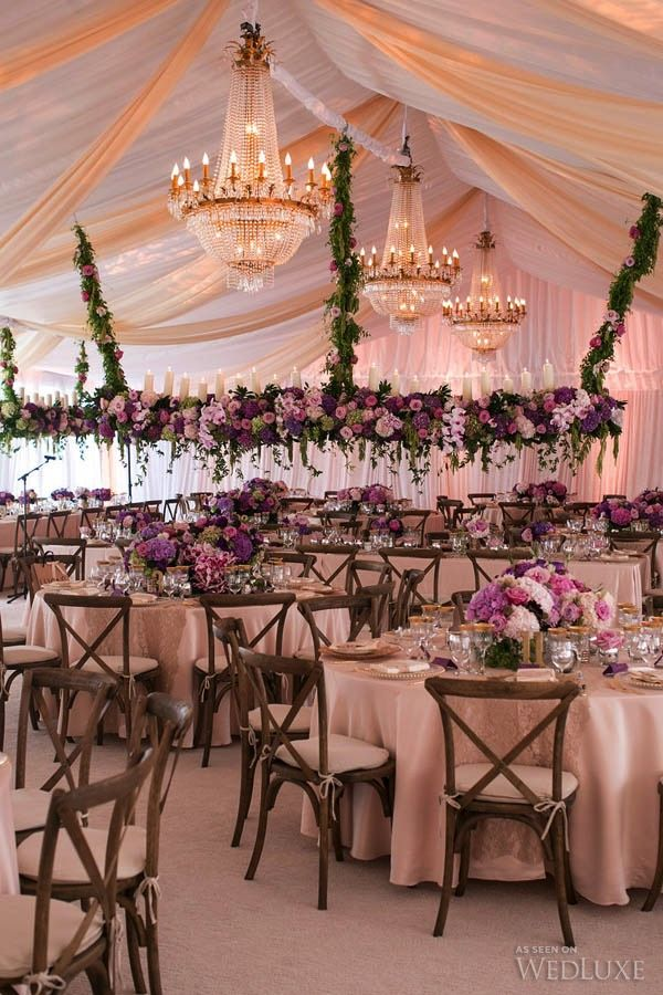 This Design Really Takes A Tent To Whole New Level Beautiful Soft D Statement Chandeliers And Incredible Fls Create An Ont Striking