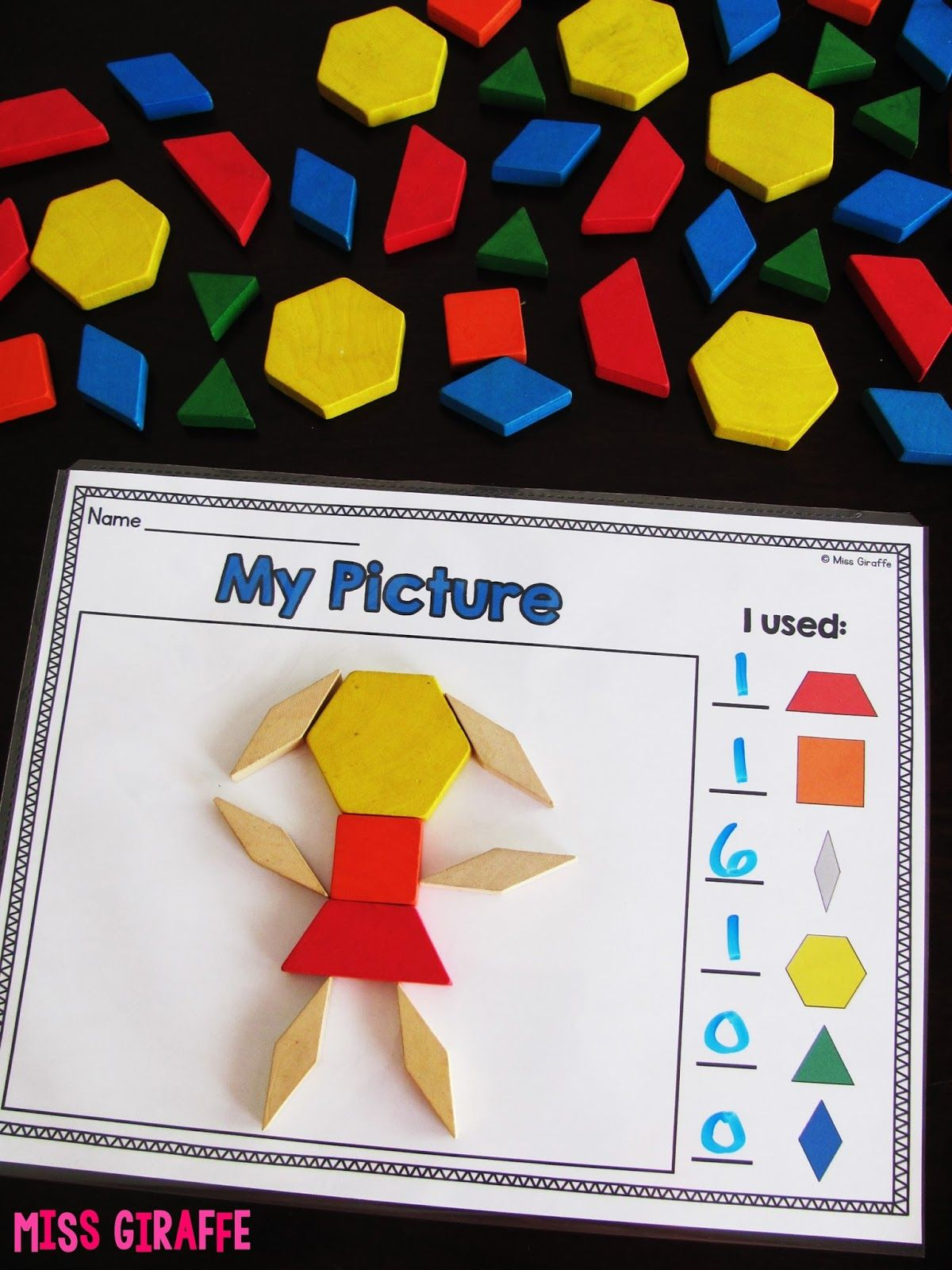 Composing Shapes Is Such A Fun Topic In First Grade And Kindergarten Geometry Learning How To