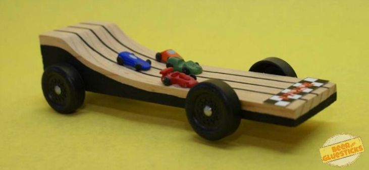 Awesome pinewood derby race car designs classic dad