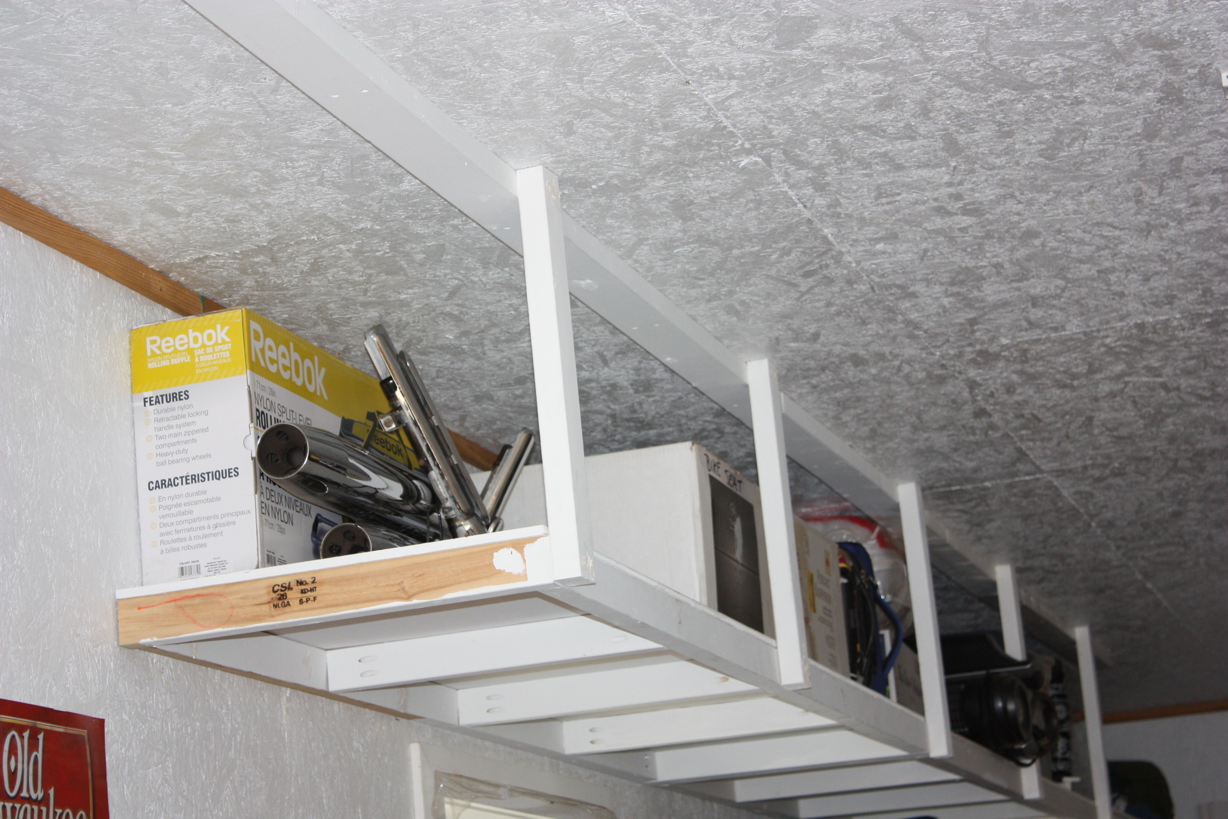 Overhead Garage Storage Do It Yourself Home Projects