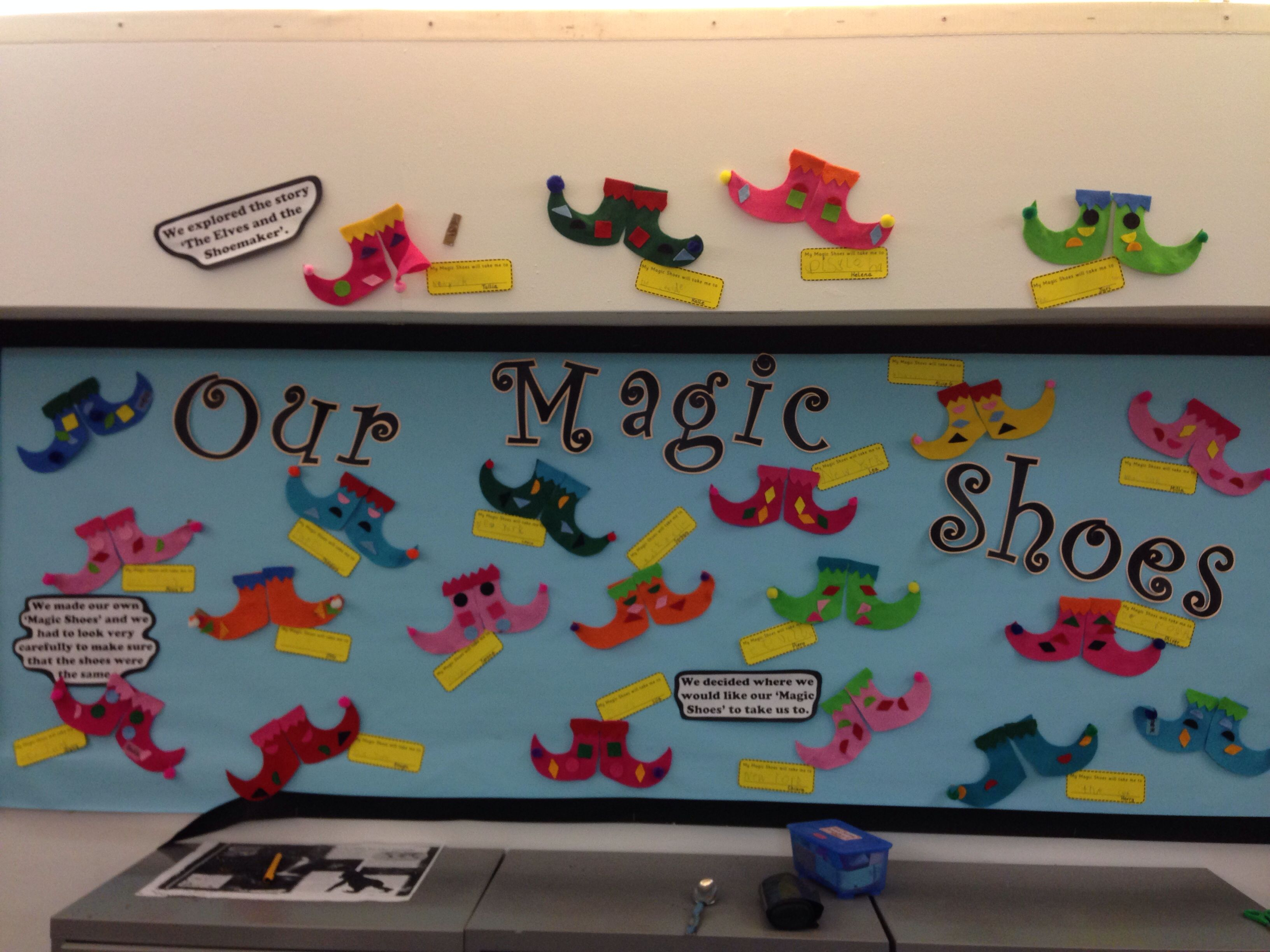 The Elves And The Shoemaker Display