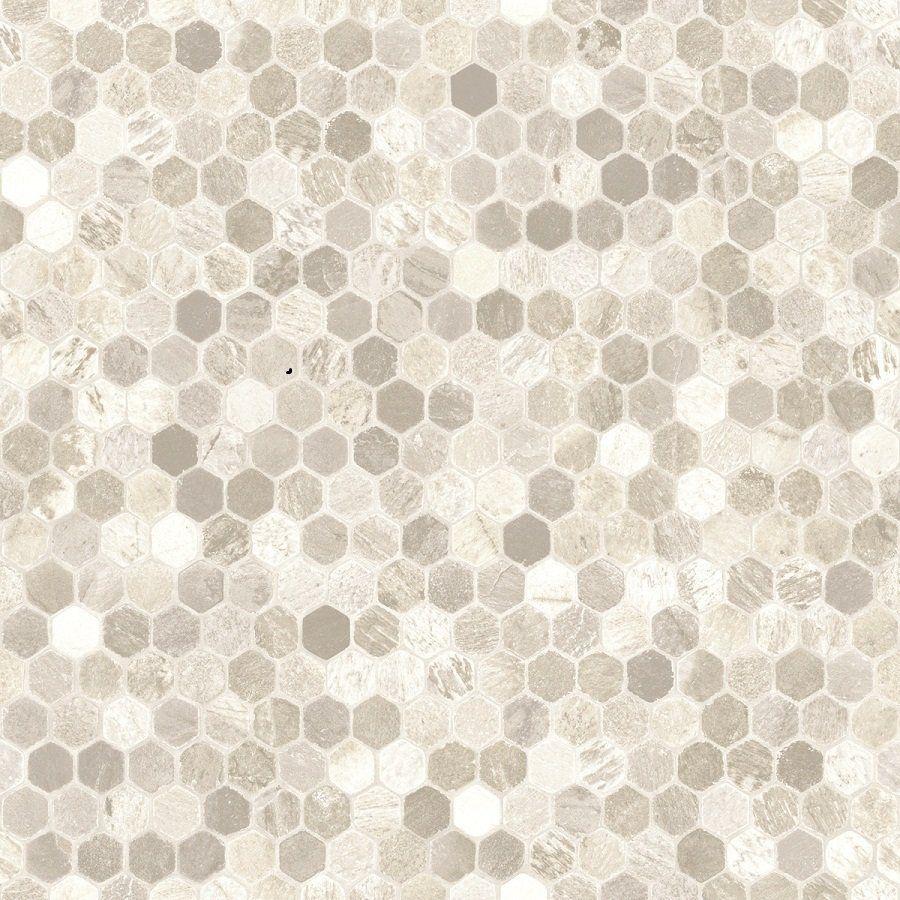Tarkett 12ft W Grey Geometric FiberFloor Sheet Vinyl at