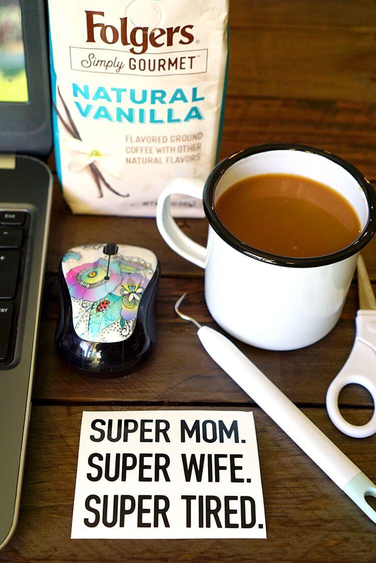 DIY Funny Coffee Mugs + Free SVG Cut Files Gourmet