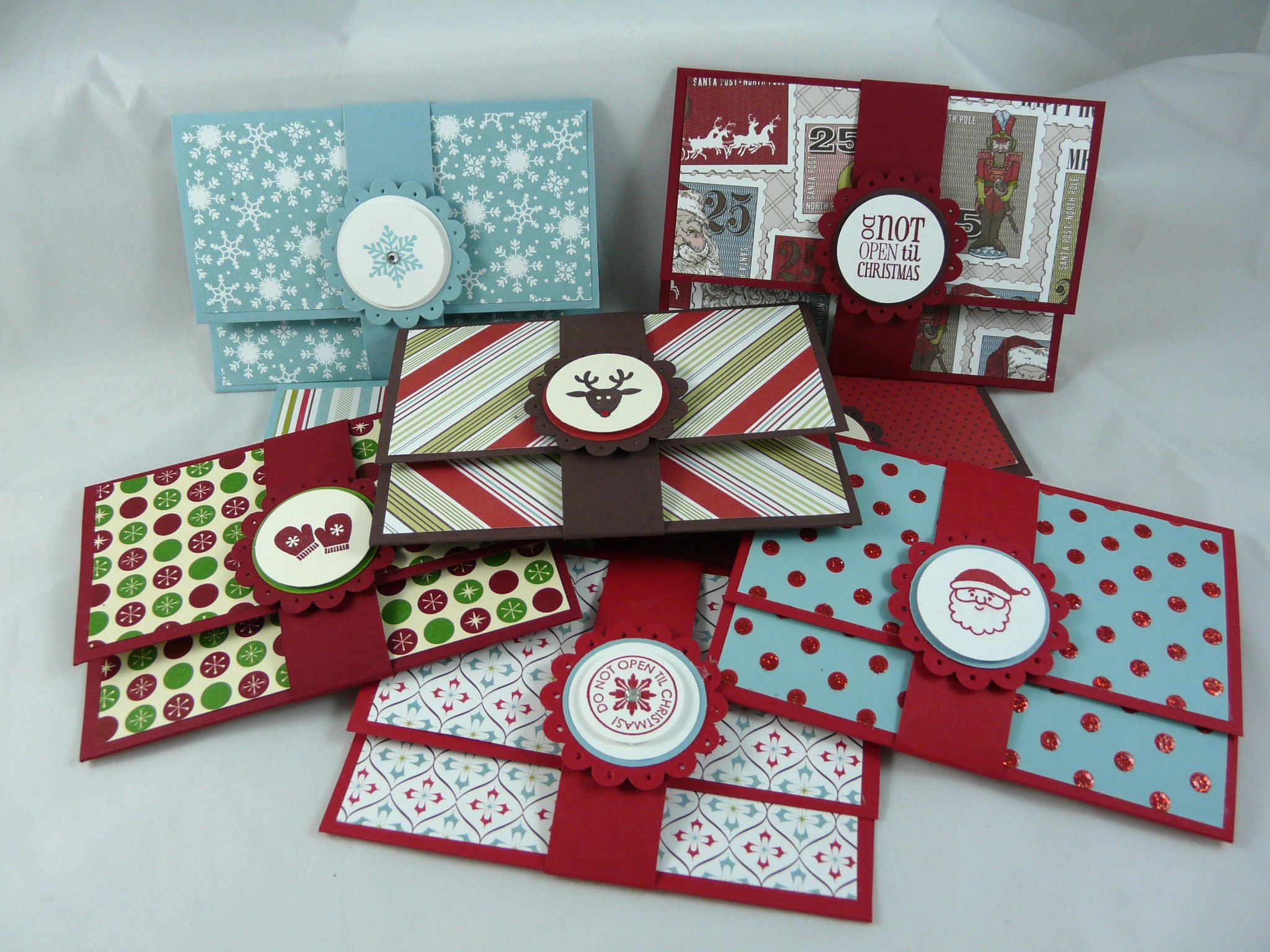 I Stamped That! Super Easy Gift Card Holders Crafts