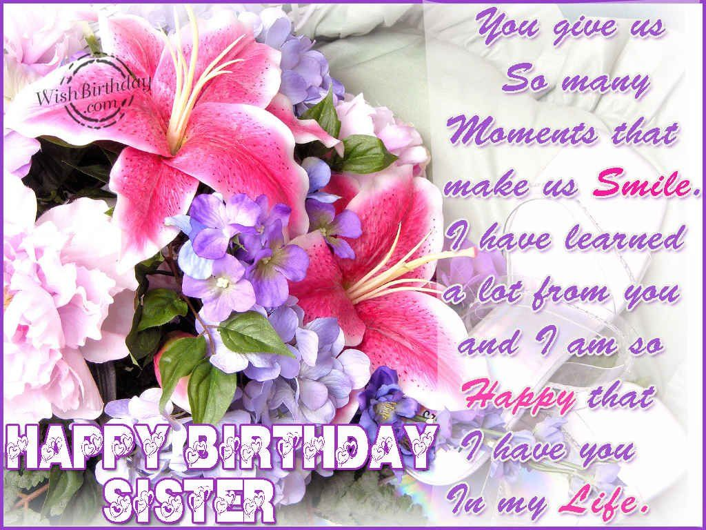 Birthday Wallpapers For Sister Free Hb Greetings 8 HD