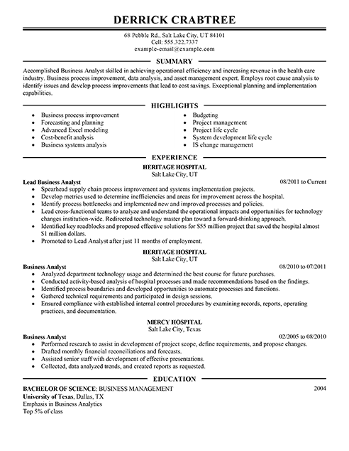 1000 images about resume on pinterest business analyst sample