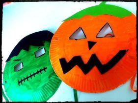 """Résultat de recherche d'images pour """"masque halloween bricolage"""""""