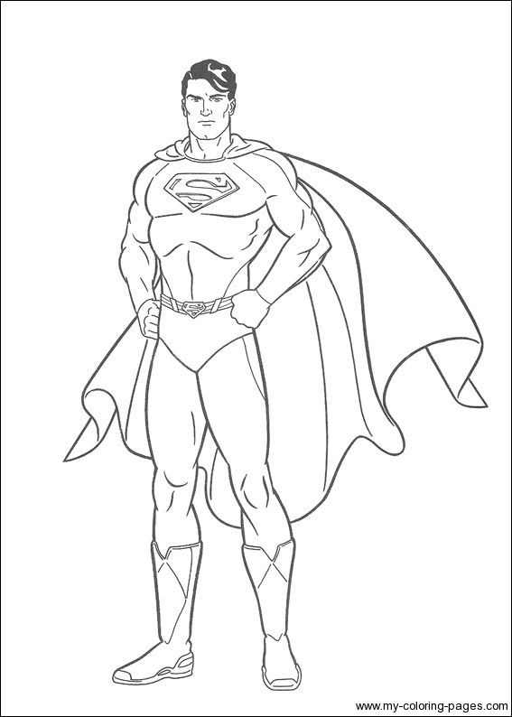 coloring pages printable coloring pages and superman on pinterest