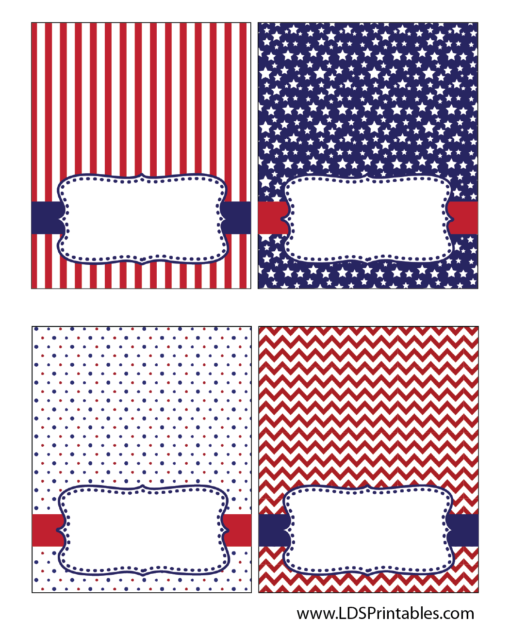 Free 4th Of July Food Tent Labels I M Thinking These Would Work Great In My Superhero Theme