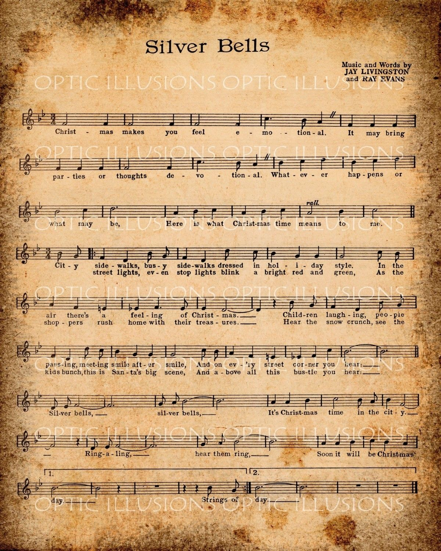 Free Printable Christmas Sheet Music For Piano With Lyrics