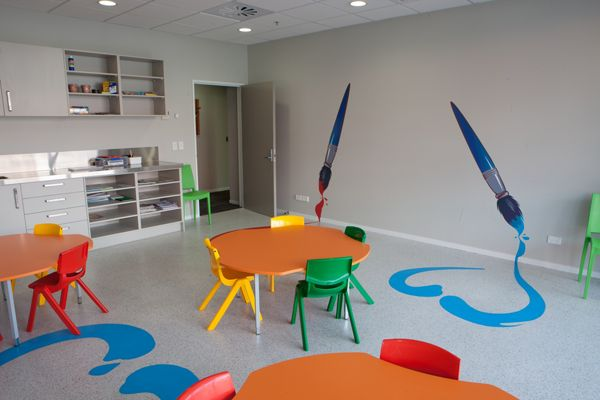 Children S Art Room Ronald Mcdonald House Wellington