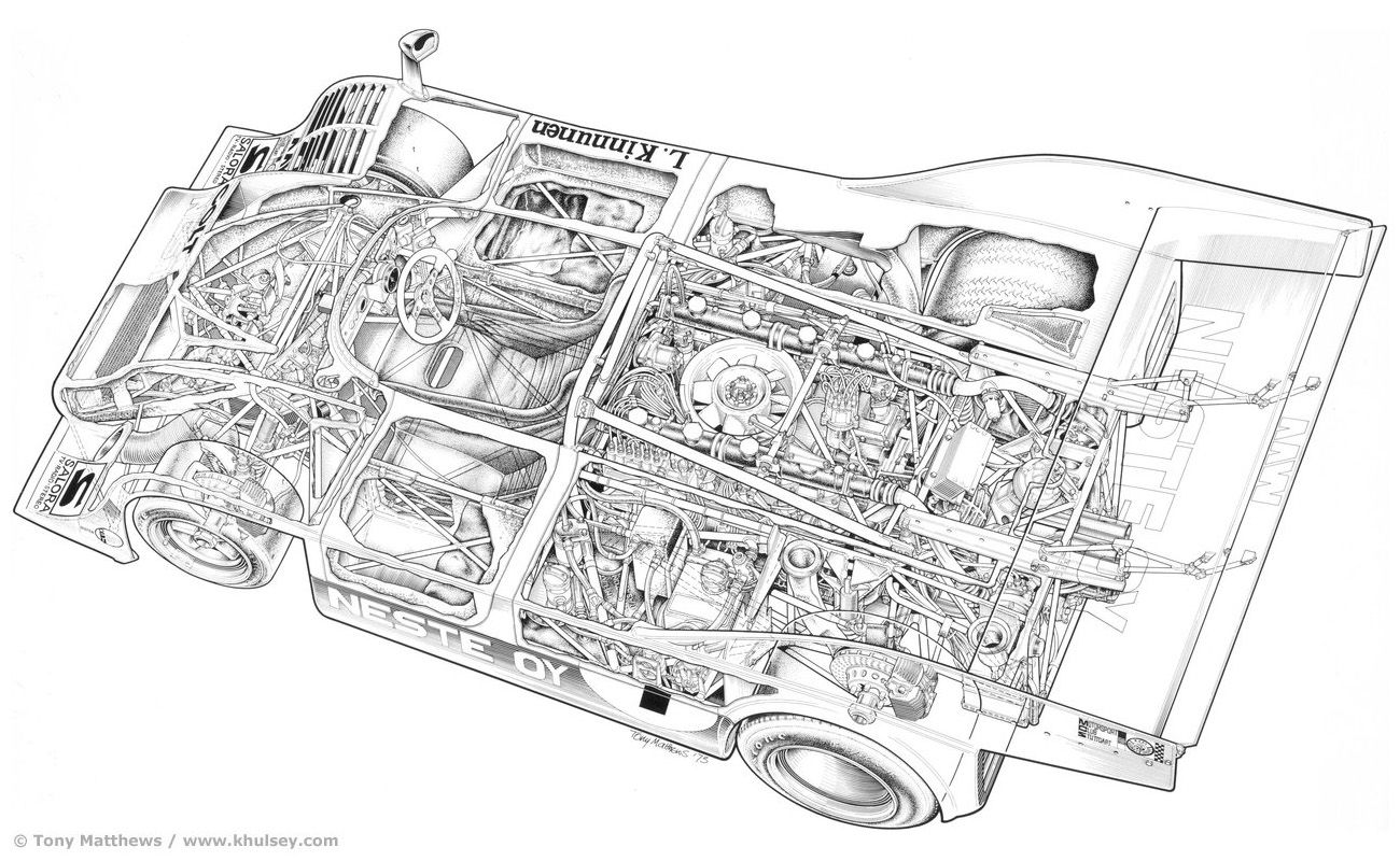 Tomotiveillustrations Illustrators Automotiveimages Tm Porsche 917 10