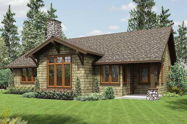 Plan 69521AM: Rustic Craftsman Home Plan