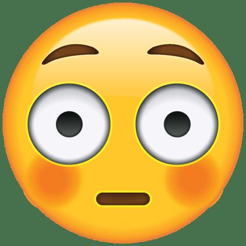 download flushed face emoji Icon Seni Pinterest Emoji