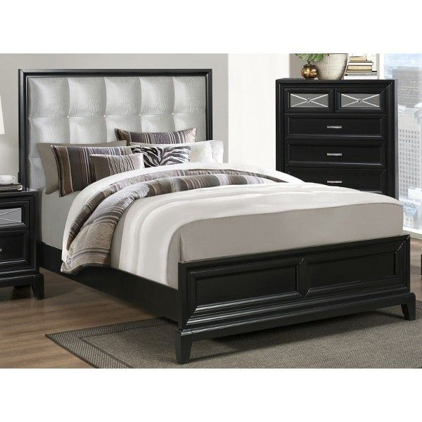 park avenue bedroom - bed, dresser, & mirror - king (b9300k