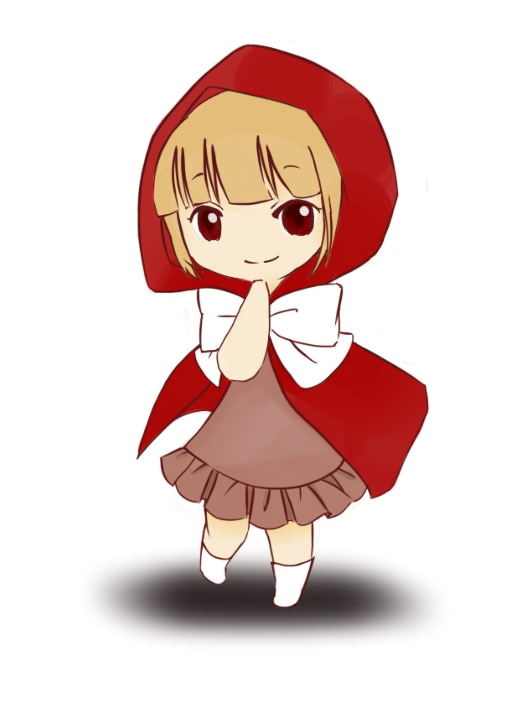 Draw Of Red Riding Hood