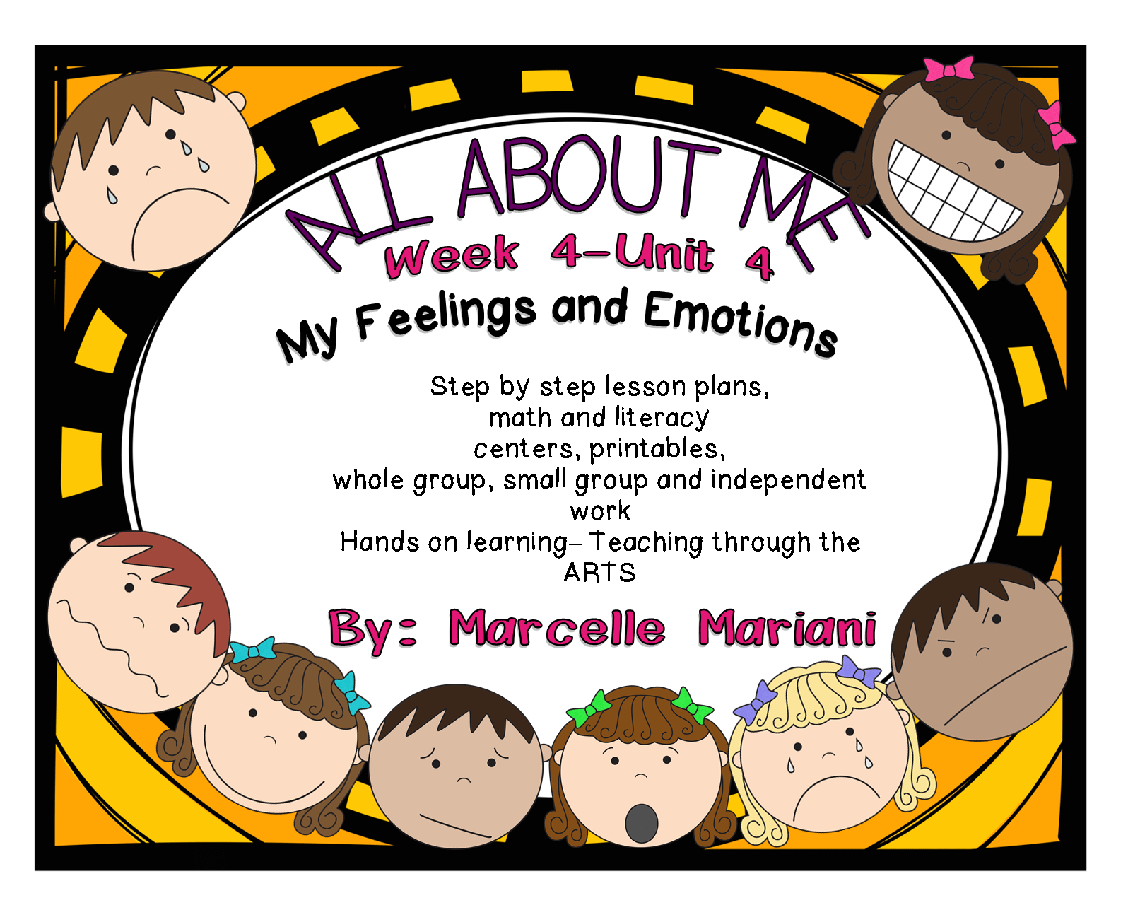 Feelings And Emotions Literacy Amp Math Activities And