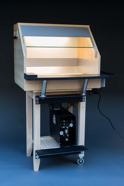 Model Spray Booth From Parts