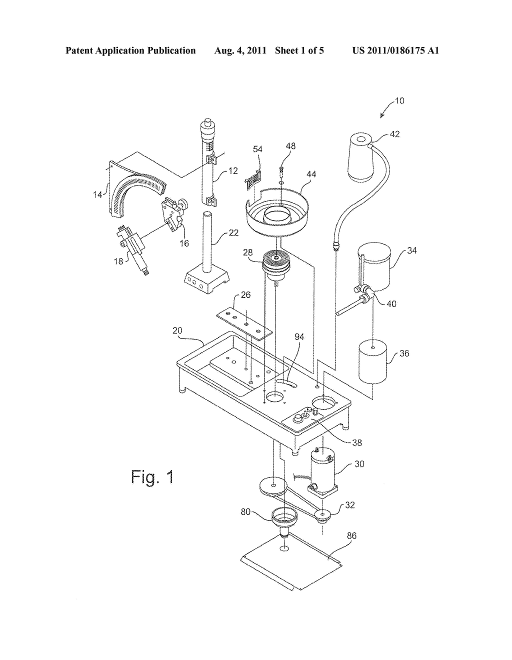 Funnel Accessory And Drainage Assembly For Faceting