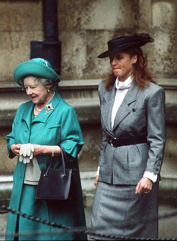 PHOTOS Sarah Ferguson Goes From Princess Diana Sidekick