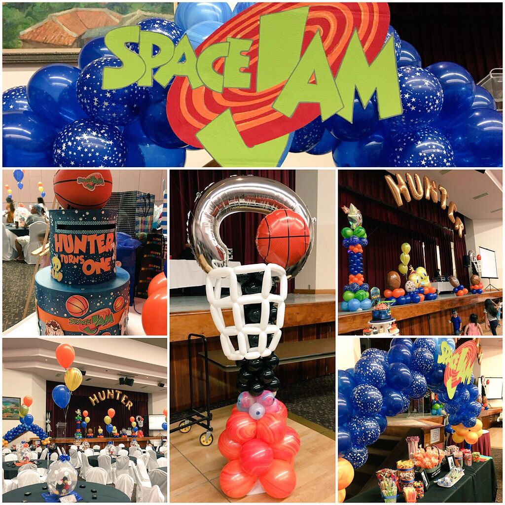 Pin by Rogelyn Agliam on Space jam party Pinterest