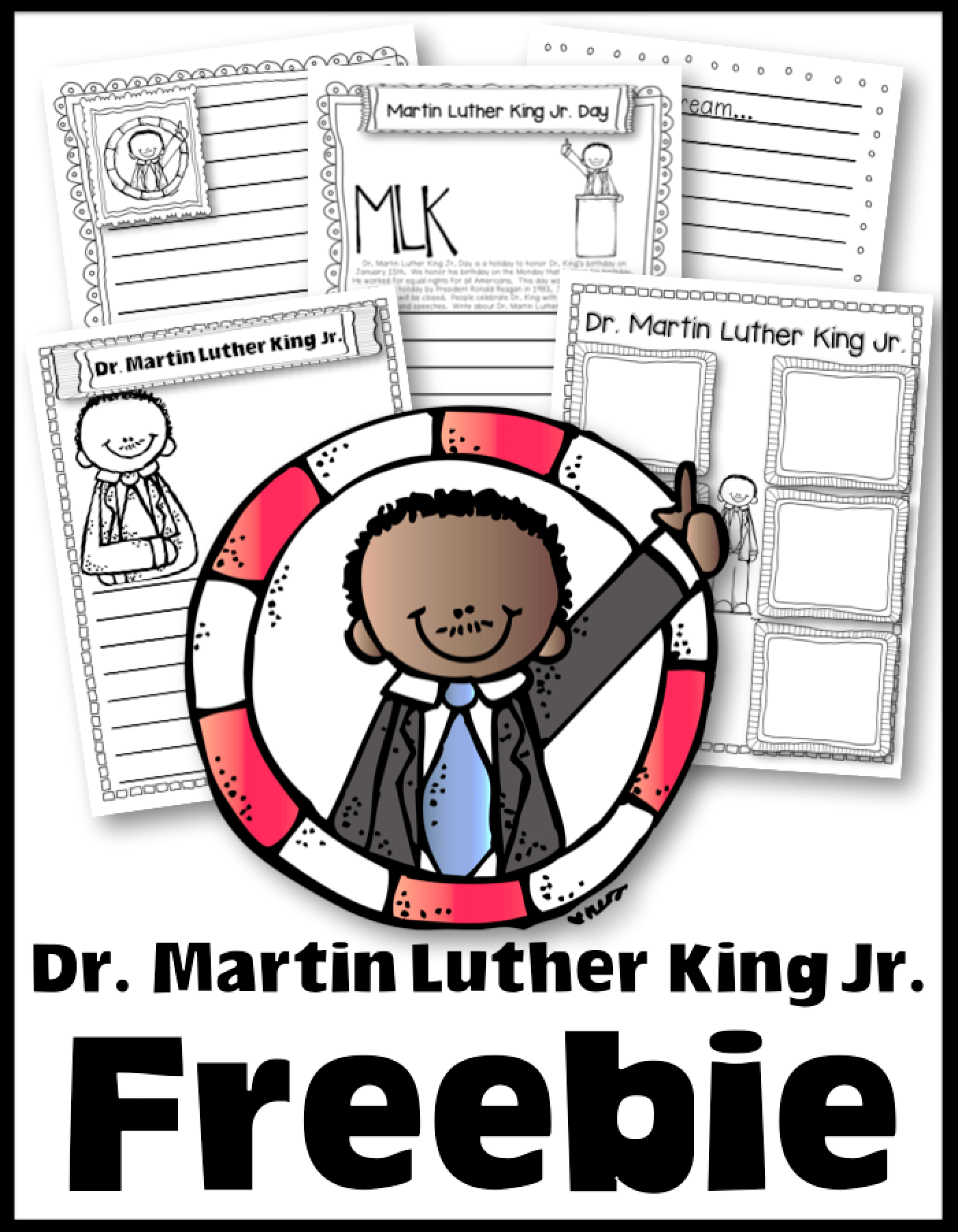 Free Worksheets Writing And More To Celebrate Dr Martin