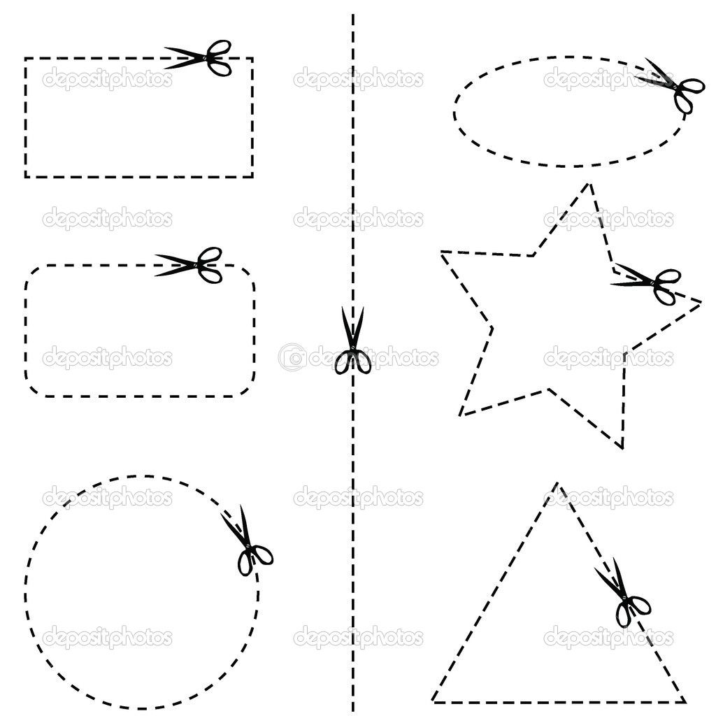 Fine Motor Skills Worksheets Cutting