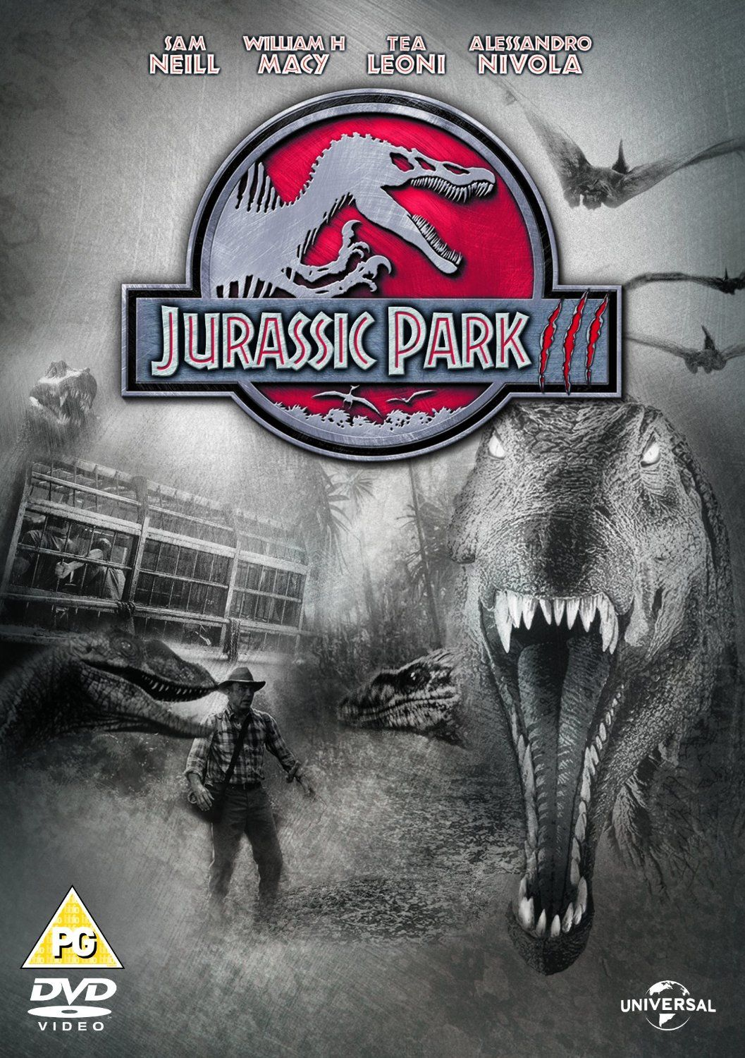 Jurassic Park III (2001) based on the book by Michael