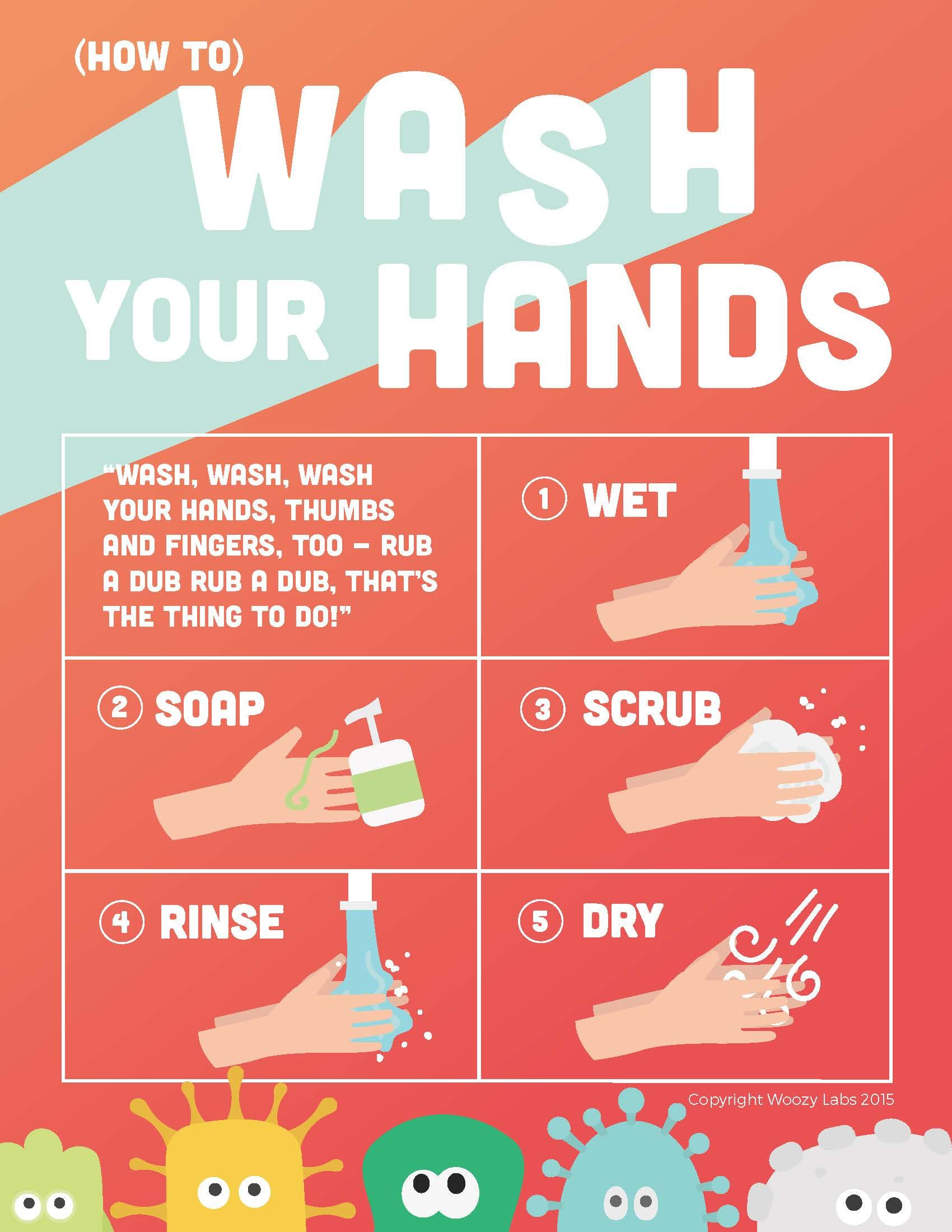 5 Ways To Teach Handwashing At Home