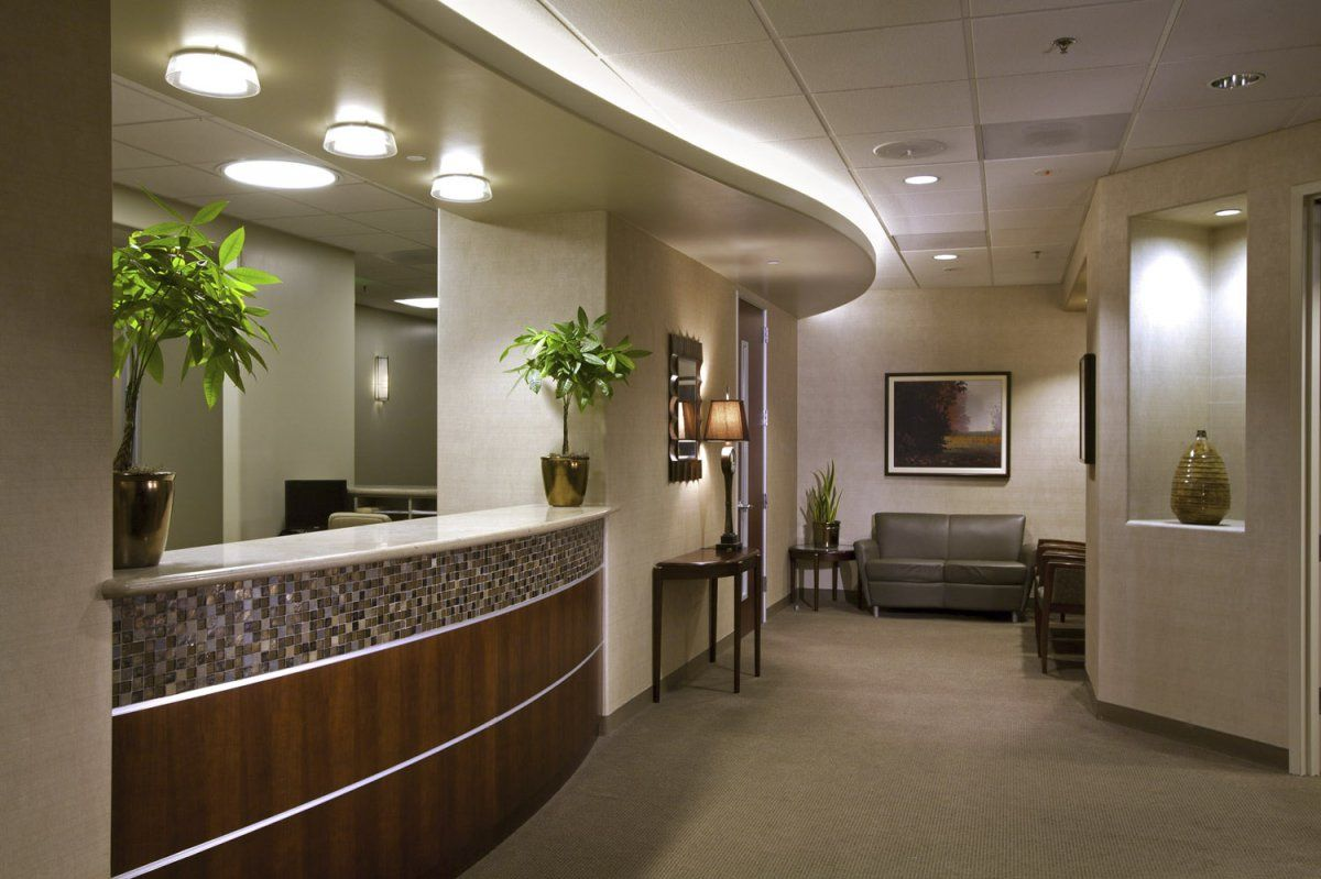 Medical Surgery Clinic Receptionist Interior Furniture