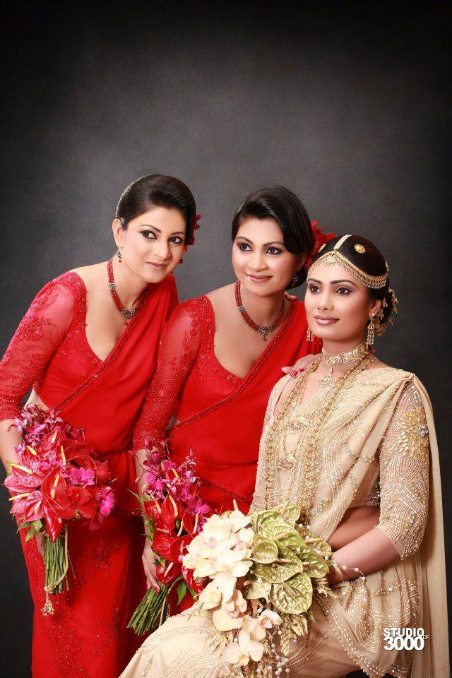 Sri lankan kandyan bride saree Serene Sarees Pinterest