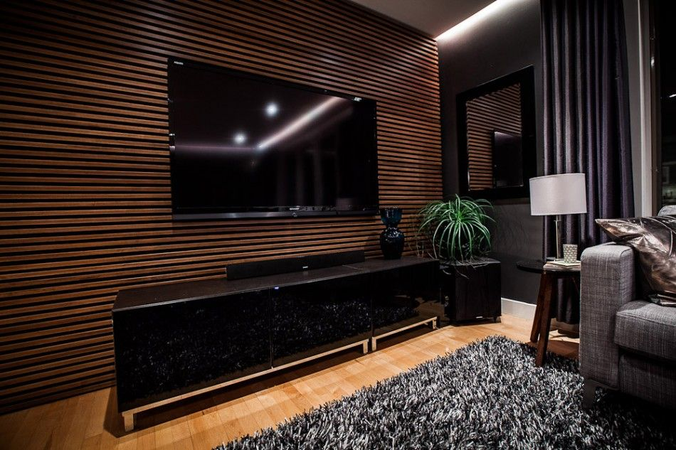 The Uncommon Law - The Living Room: Slat Wall
