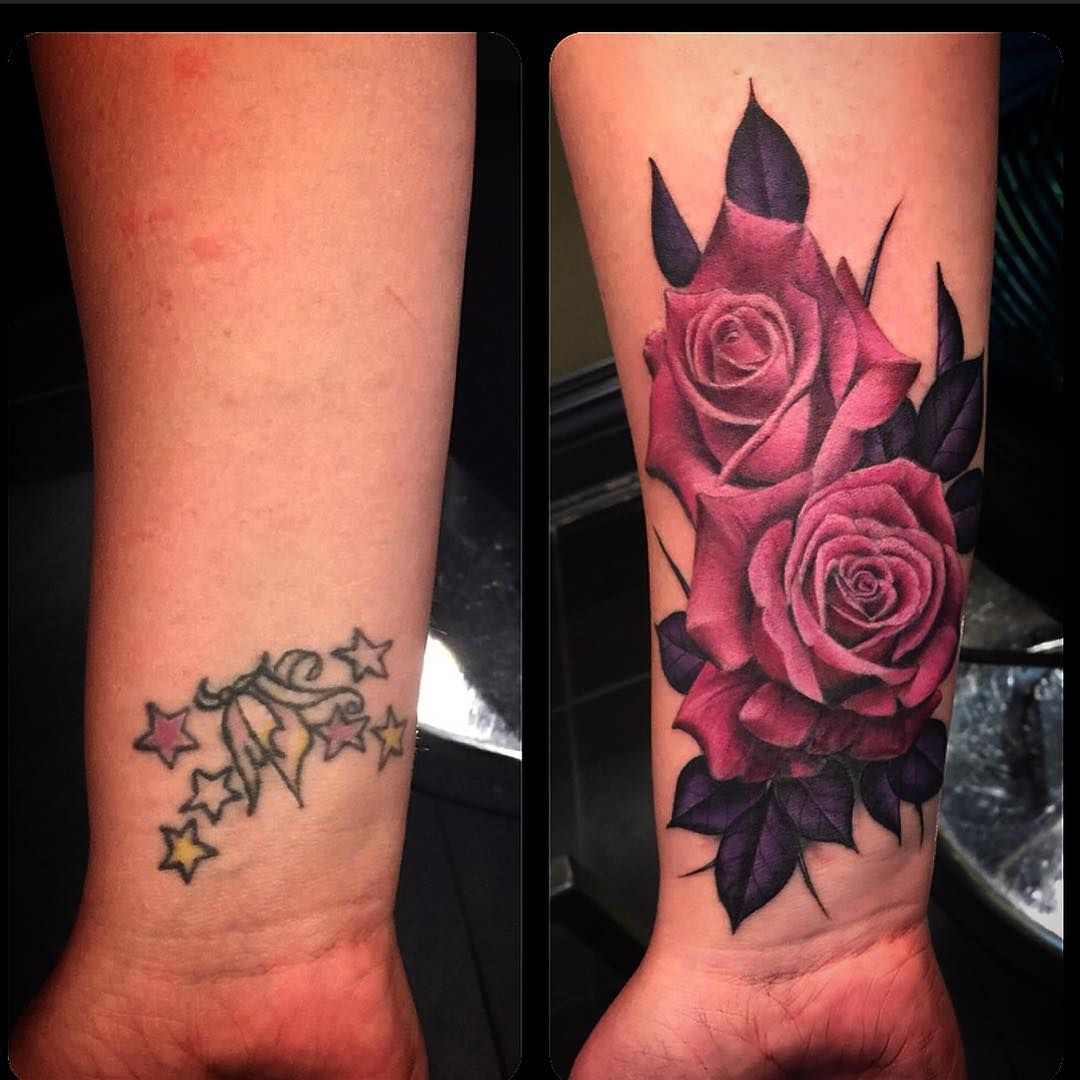 Rose Cover Up Tattoos Tattoos Pinterest Tattoo, Rose