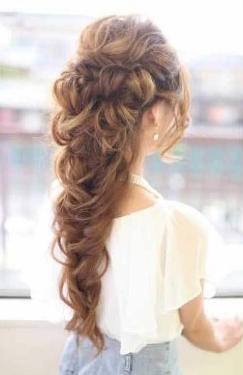 Prom  Updos  for Long  Hair  Beauty hair  Pinterest