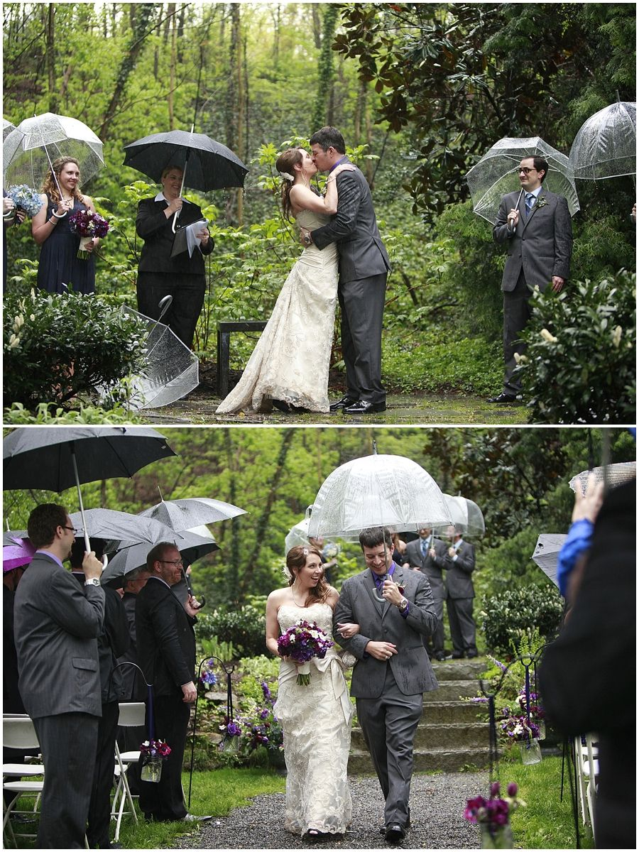 Making the most of rain on your wedding day Linsey West