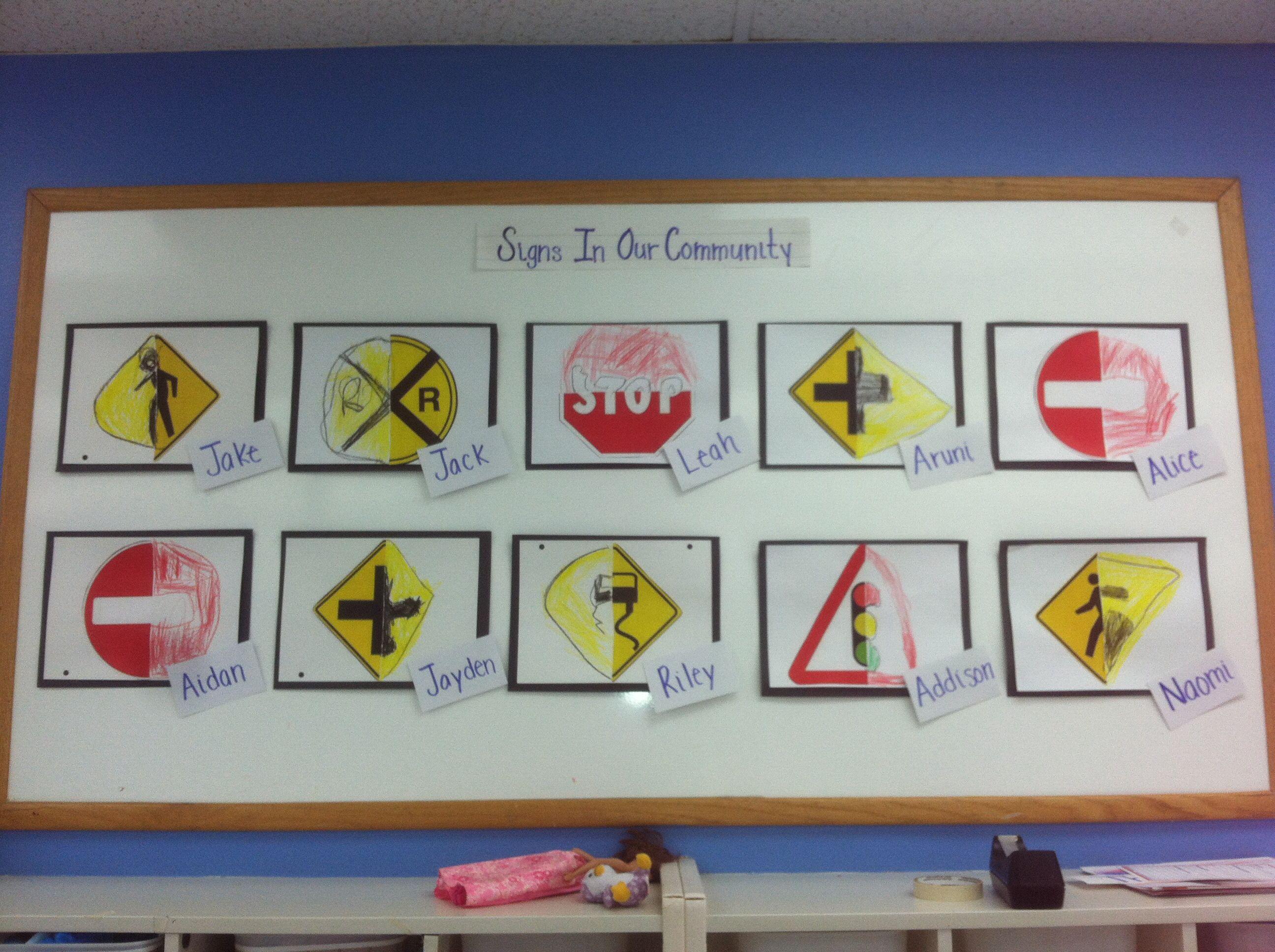 Traffic art projects for preschoolers